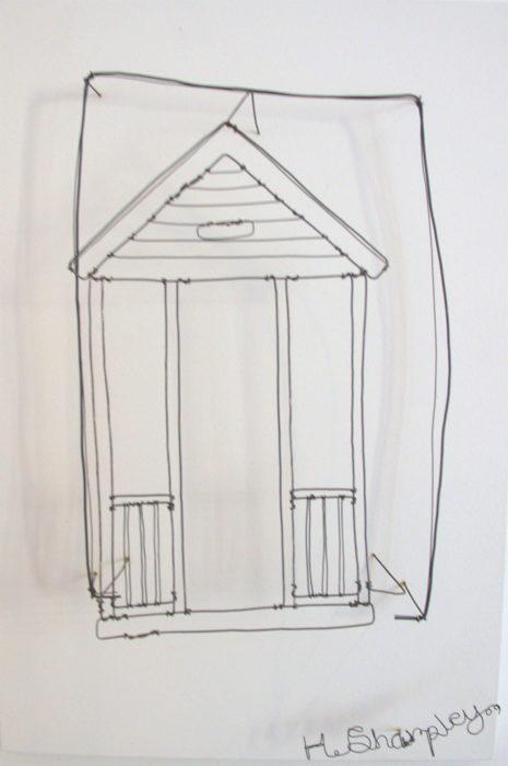 wire work, helaina sharpley, jane adams gallery