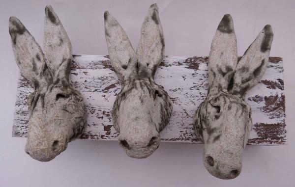 donkey head woodblock ceramic handmade studio pottery cornwall woodblock