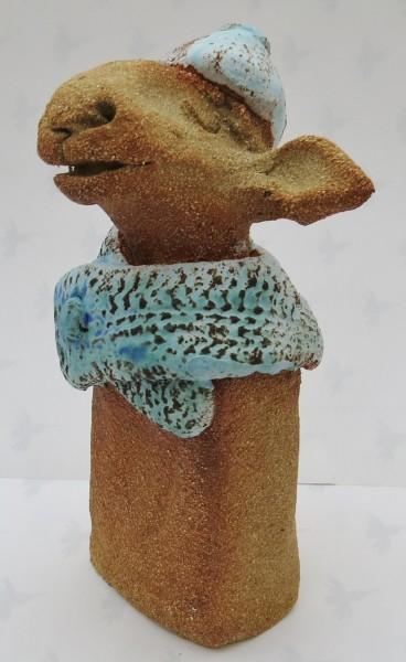 rogues gallery, sheep, scarf, , jane adams ceramics, ceramic, sheep, cornwall