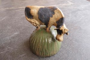 ceramic cow, jane adams ceramics