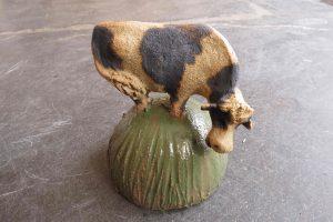 ceramic cow, jane adams ceramics