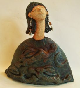 ceramic people. cornwall, karanze, jane adams ceramics