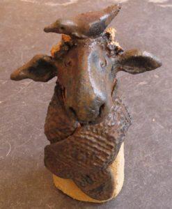 ceramic sheep, jane adams ceramics