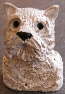 ceramic dogs, handmade, jane adams ceramics