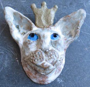 ceramic cat. siamese cat, siamese ornament, wallhanging, handmade studio pottery, pottery siamese, jane adams ceramics