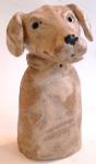 dog, pottery dog, ceramic, labrador, jane adams ceramics