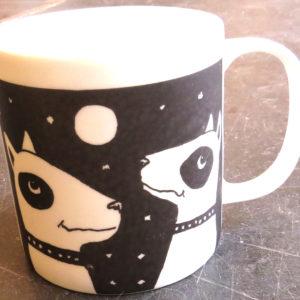 bone china mug- partners in crime