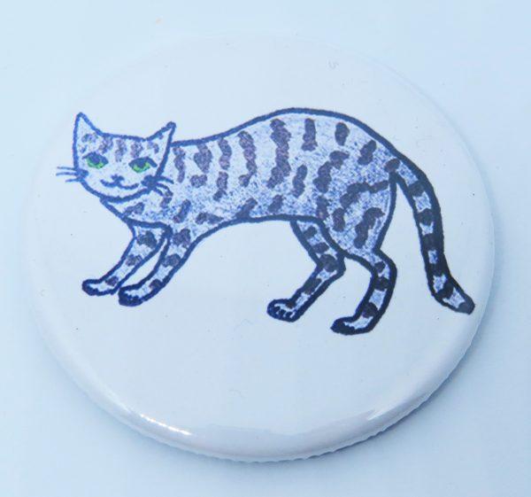 tabby cat, fridgemagnet, cat gifts, cat artwork, cat designs, pawprint designs, jane adams