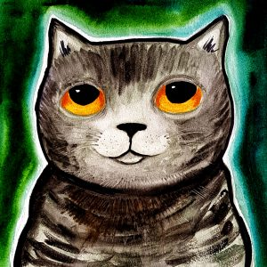 CARD, CARDS, GREETINGS CARDS, CAT CARDS, tabby cats, greetings cards,, jane adas