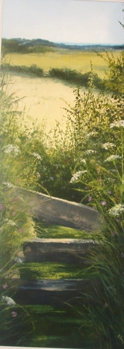 Heather Howe artist, Heather Howe paintings, Heather Howe, landscape paintings, cornwall paintings,